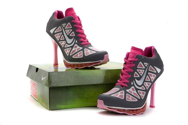 the best attitude 4cbf0 efcfa nike talons femmes,2013 nike air max dunk talons femmes loisirs reduction  populaire gris pink
