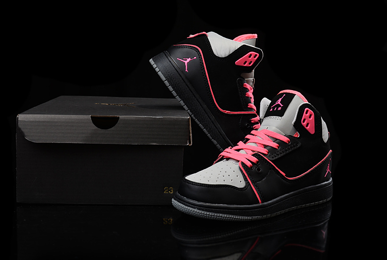 vente chaude en ligne 5c703 71b57 air jordan 1 femmes sneaker flight 2 fille pink