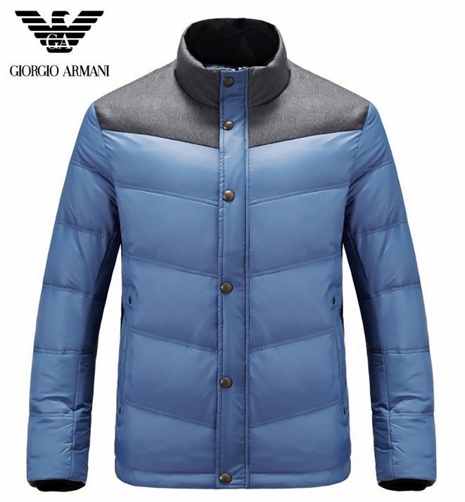 doudoune Armani - page16,doudoune armani hommes exquis nouveau mode  promotion design gris bleu 3ea11521496