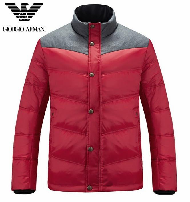 doudoune Armani - page16,doudoune armani hommes exquis nouveau mode  promotion design rouge gris 49fd781f762
