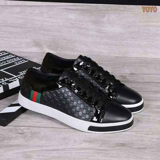 GUCCI chaussures hommes pas cher - page16,basket gucci montante gaufrage  noir cuir,gucci 46344b2d5e7