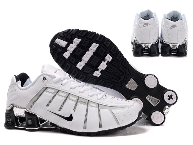 detailed look c0b27 ba1f1 46.50EUR, Nike Shox NZ Men,jogging nike shox nz 3 men shoes 2013 uv leven  white