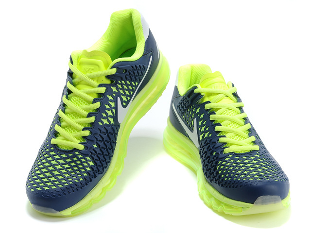 the best attitude 46d59 9aacf 45.90EUR, Nike AIR MAX 2014,nike air max kpu hommes nouvelles reductions  sport maille jaune bleu