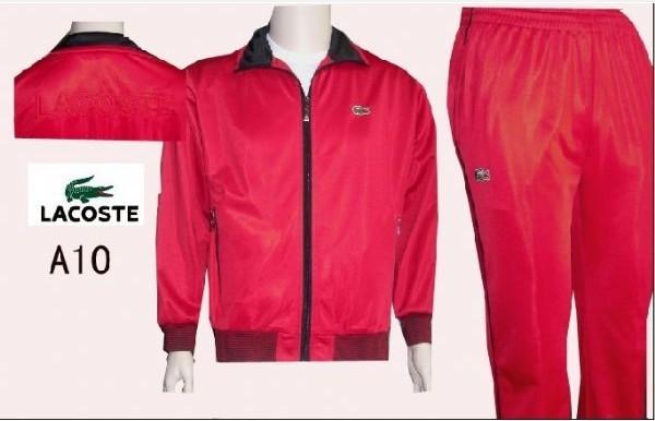 85397eb9d1 56.90EUR, Lacoste Survetement hommes,pas cher lacoste sport wear 2013  survetement hommes a10 rouge noir