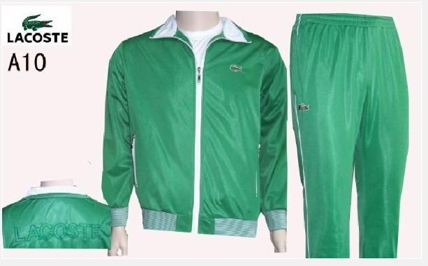 b6bc07f548 Lacoste Survetement hommes,pas cher lacoste sport wear 2013 survetement  hommes a10 vert blanc